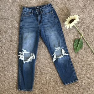 Hollister Ripped Mom Jeans